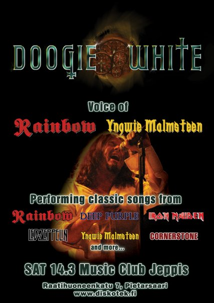 Doogie White poster 2009-03-14