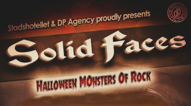 Solid Faces plays live at the Halloween Monsters of Rock party 2014