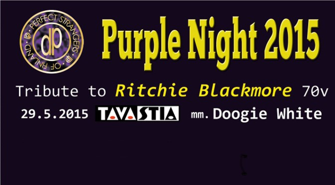 Review on Smoke on the Water web about Purple Night 2015
